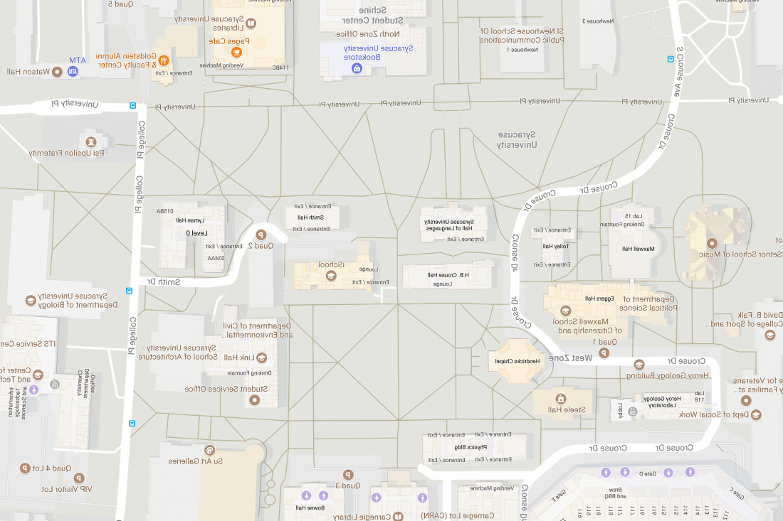 Main Campus map. Click to see the map